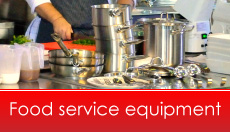 Professional food service equipment