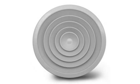 Circular ceiling diffuser, aluminium