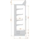 RCH Hercules 06 - Refrigerated wall cabinet