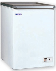 UDD 100 CKG Chest freezer with top glass door