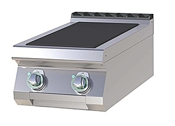 SPL 704 E - Electric range with 2 plates