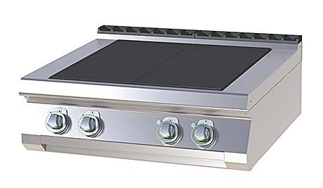 SPL 708 E - Electric range with 4 plates