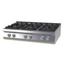 SP 7012 G - Gas range with 6 burners
