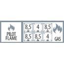SPS 7120 G - 6 égős gáztűzhely