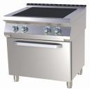 Mașină de gătit electrică cu 4 plite și cuptor | SPLT 780/21 E