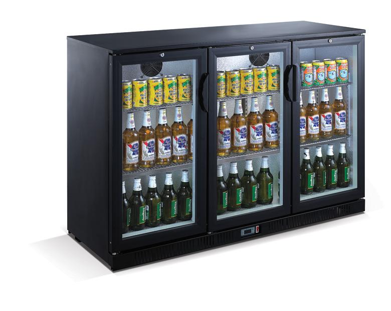 Vitrină frigorifică bar, cu trei uși LG-330H
