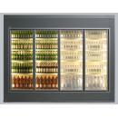 Cameră frigorifică vitrată cu uși batante