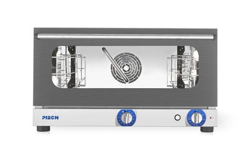 PF8003 - Manuális konvekciós sütő párásítóval és inverterrel 3x (600x400) vagy GN 1/1