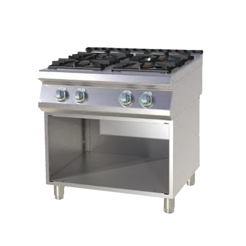 SP-780 G - Gas range with base
