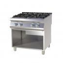 SP-780 G Maşină de gătit pe gaz cu 4 arzătoare şi suport