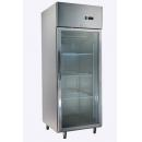 GNC740L1G INOX glass door cooler