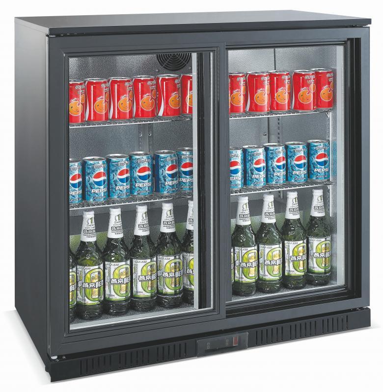 Vitrină frigorifică bar, cu două uși glisante LG-208S