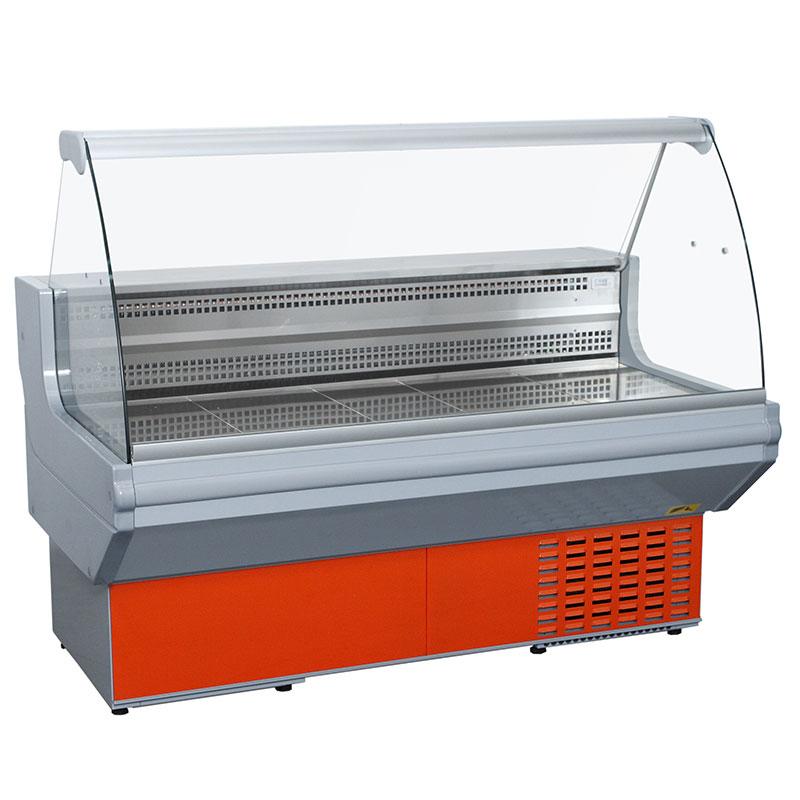 Vitrină frigorifică orizontală cu geam curbat STANDARD 1.0