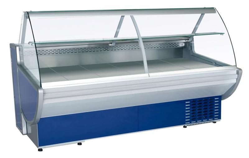 Vitrină frigorifică orizontală cu geam curbat Maxi 2.5-produs resigilat