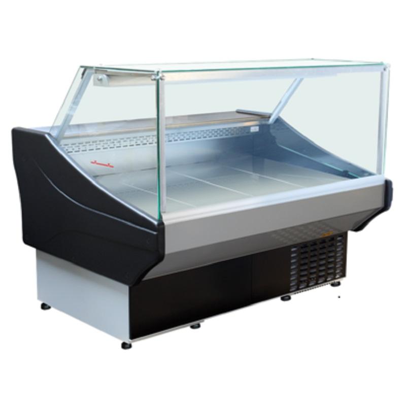 Maxi SQ 1.0 Egyenes üvegű csemegepult
