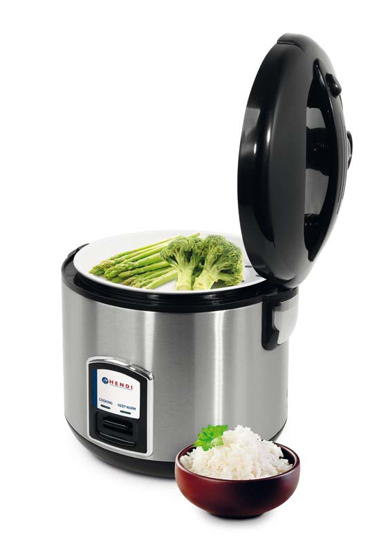240410 - Rice Cooker with steamer cooking function