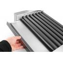 268506 - Sausage rolling grill with 7rollers