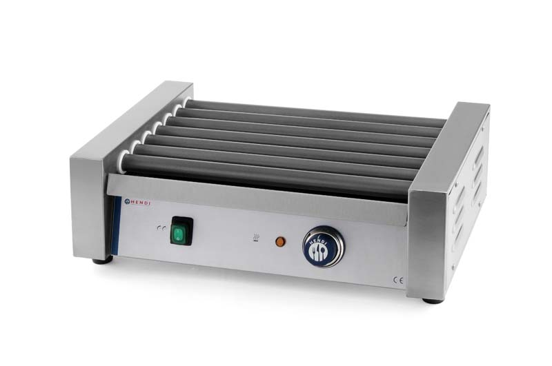 268605 - Sausage rolling grill with 9 rollers