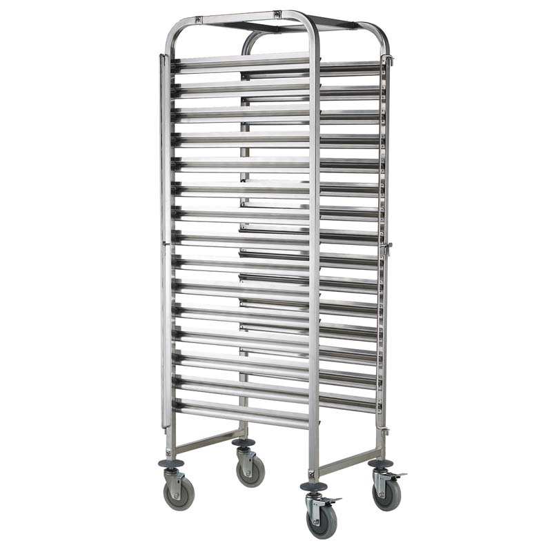 810613 - Clearing trolley - 15 x GN1/1