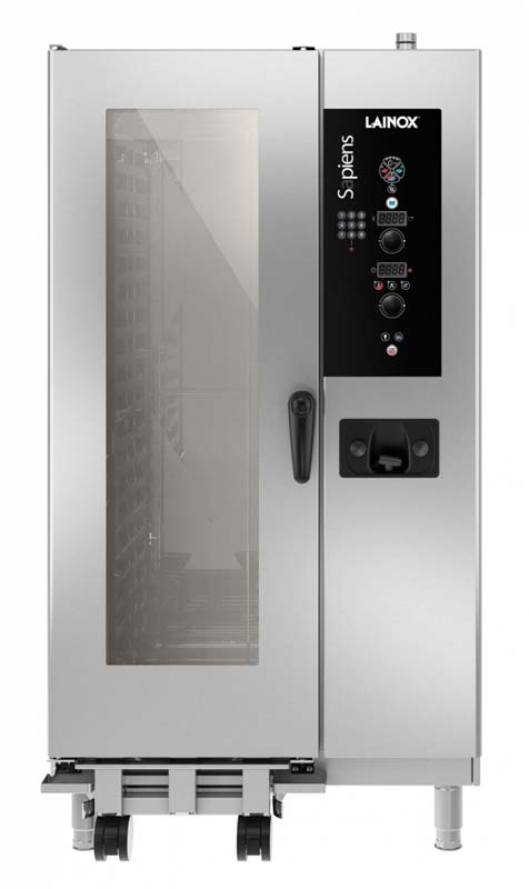 SAEB201 - Electric and gas combi oven with boiler 20 x 1/1 GN