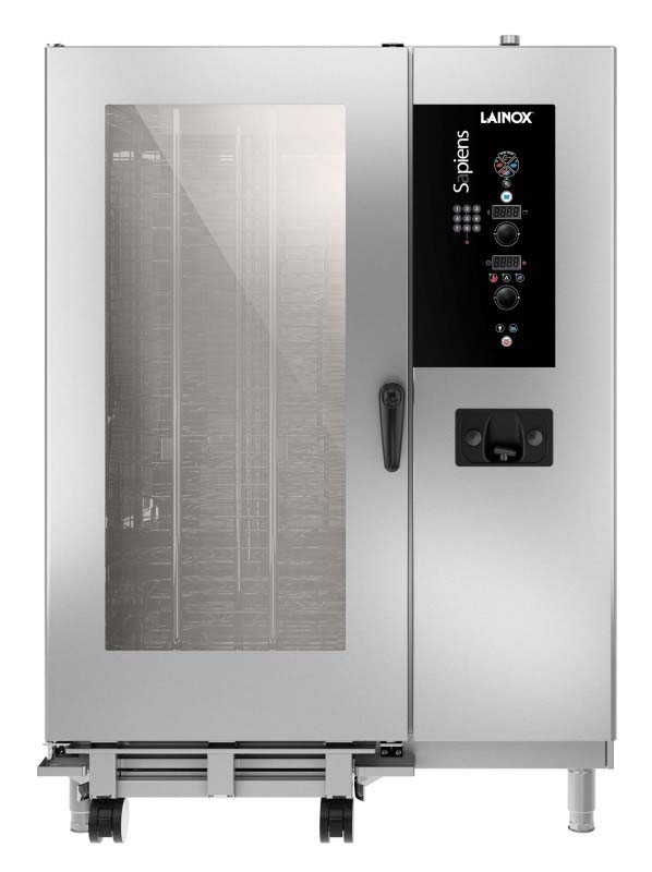 SAEB202 - Electric and gas combi oven with boiler 20 x 2/1 GN or 40 x 1/1 GN