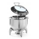470329 - Round chafing dish for soup