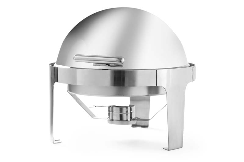 470312-Round roll-top chafing dish