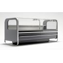 LCCT Catania - Refrigerated counter with telescopic front glass