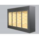 Cameră frigorifică vitrată cu uși glisante