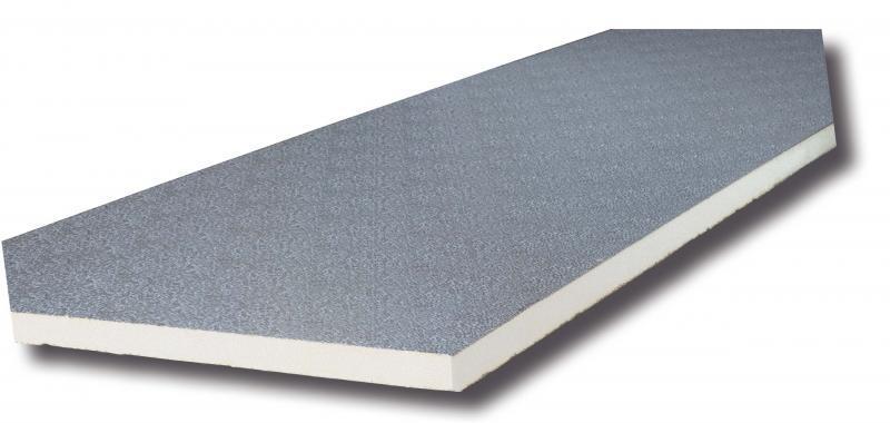Panel 30 mm - mintás 80 µm és mintás 200 µm, habsűrűség: 45 kg/m3
