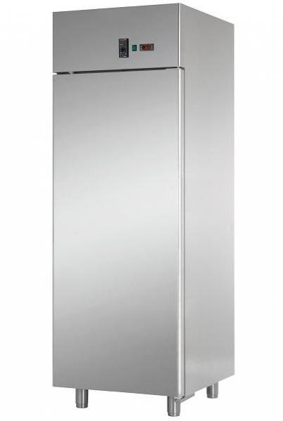 AF07EKOMTNPS - Rozsdamentes hűtőszekrény kelt tészták számára