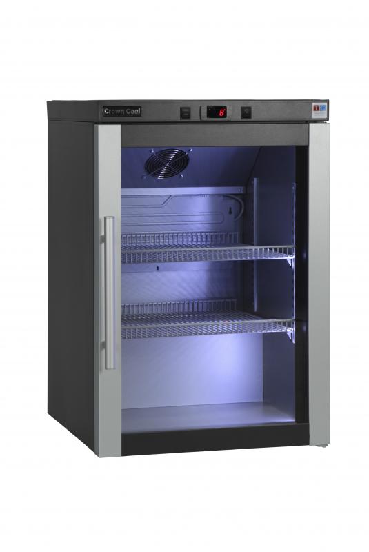 J-160 GD - Üvegajtós hűtővitrin