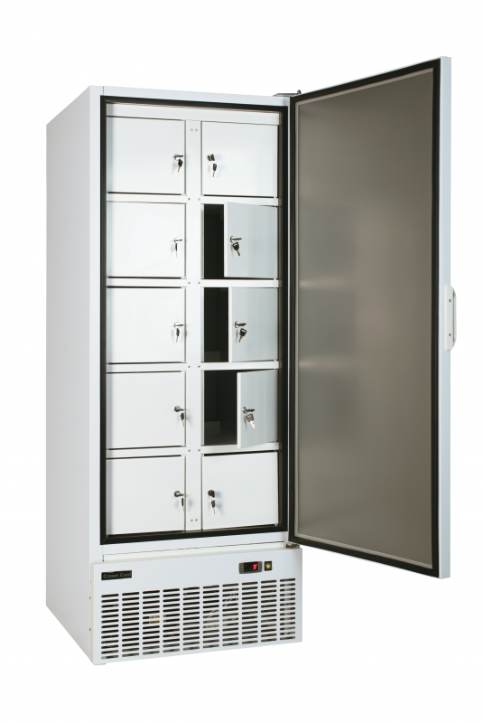 TC 600R (J-600 R) I Solid door, refrigerated with separated containers