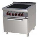 SPLT 90/80 11 E Range with convection oven