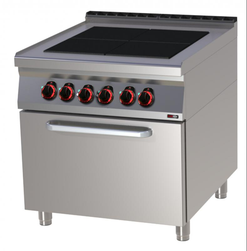 SPLT 90/80 21 E Range with static oven