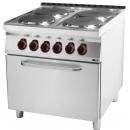 SPT 90/80 11 E Range with convection oven