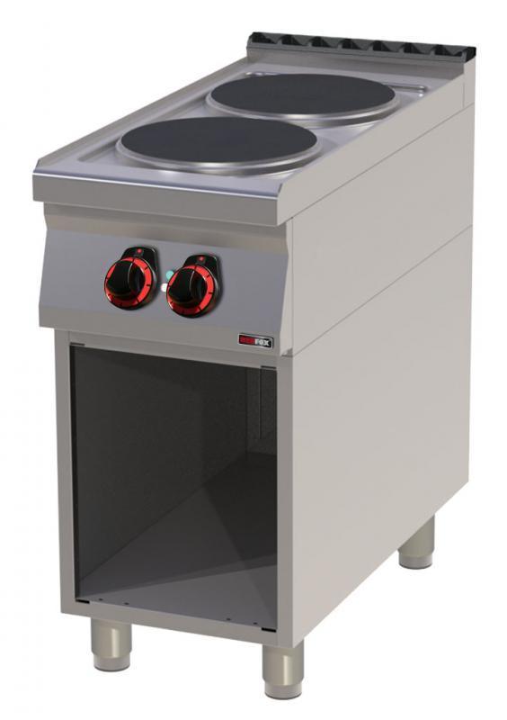 SP 90/40 E -Maşină de gătit cu 2 plite rotunde
