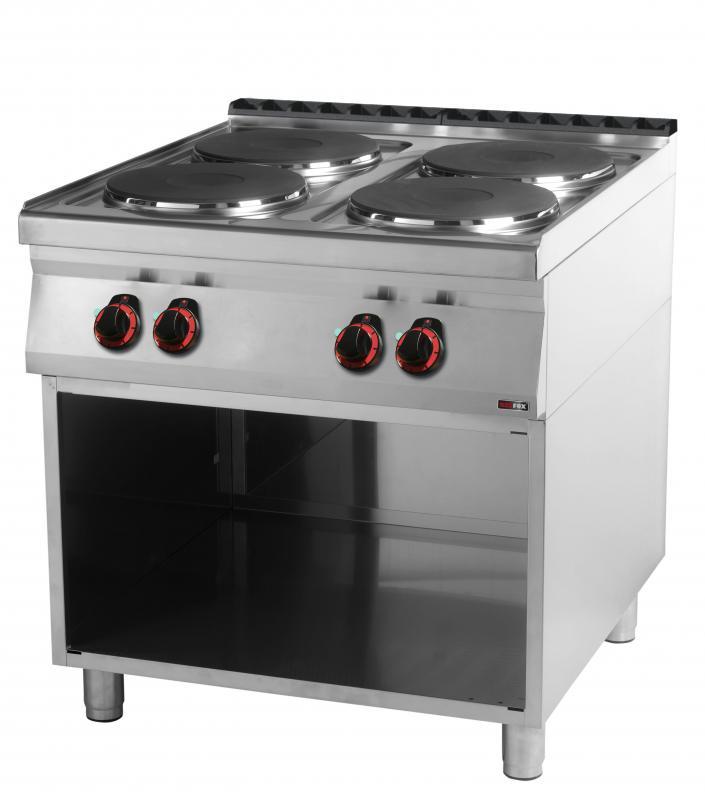SP 90/80 E Maşină de gătit electrică cu 4 plite rotunde