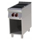 SPQ 90/40 E Boiling top quadratic plates with base