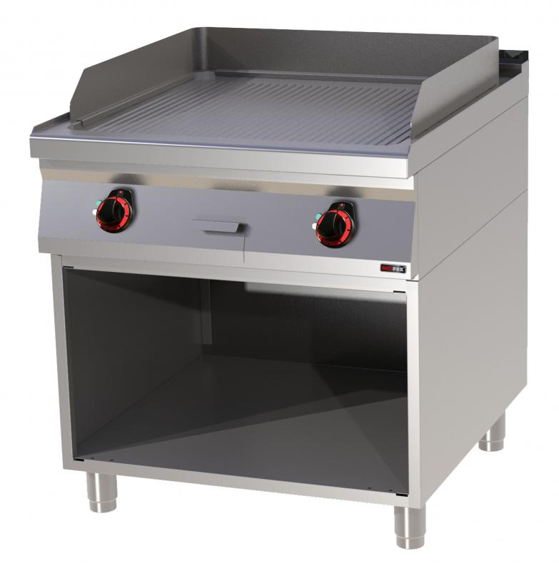 FTR 90/80 E Electric griddle plate with base