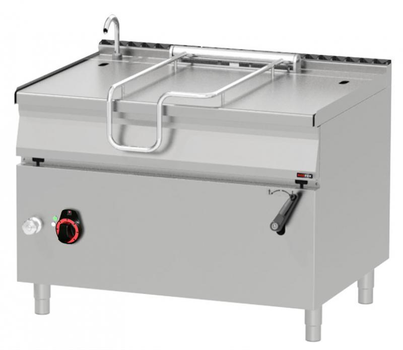 Tigaie basculantă electrică de 120 litri | BR 90/120 E