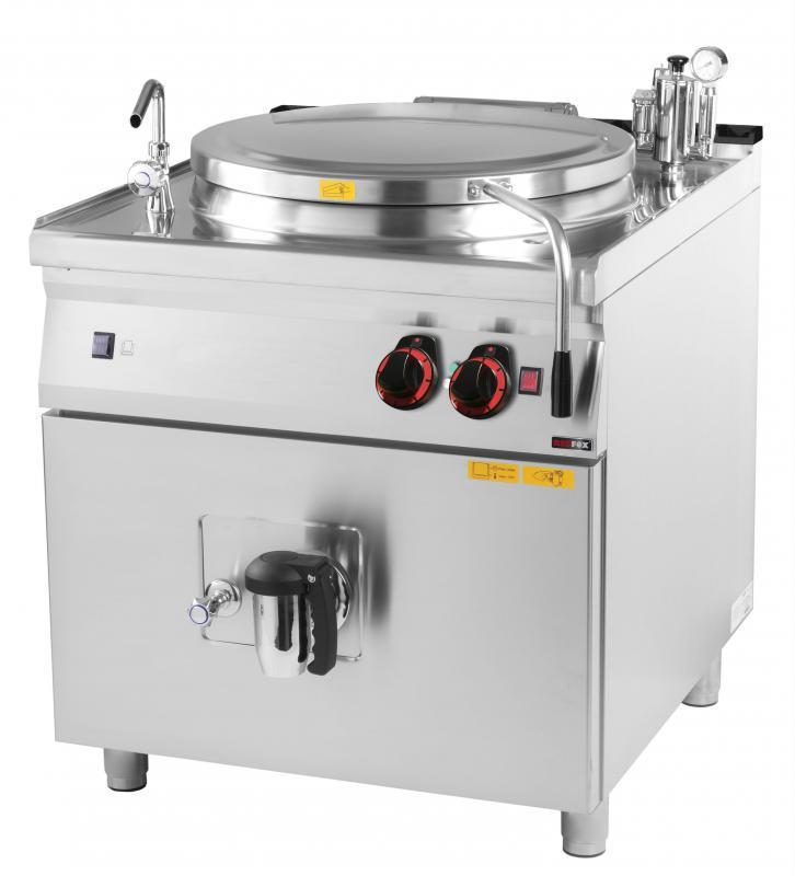 BI 90/100 E Elektromos főzőüst,100 literes