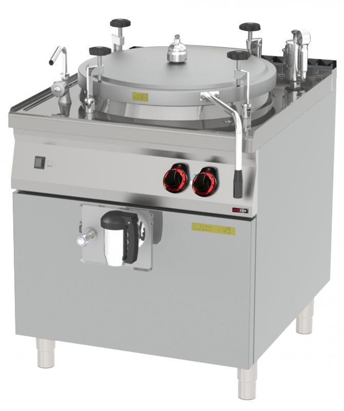 BIA 90/100 E Elektromos főzőüst,100 literes
