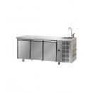 TF03MIDGNL - Masă refrigerată cu 3 uși și spălător