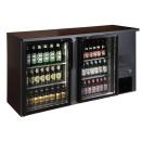 TC-BB-2GD Double glass door bar cooler