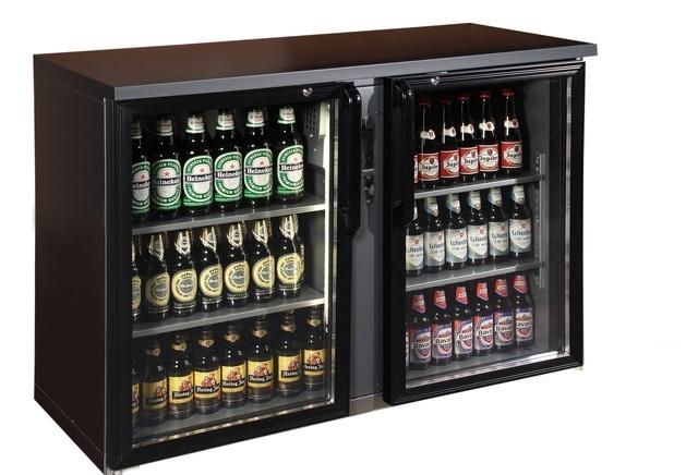 TC-BB-2GDR   Vitrină frigorifică pentru bar