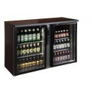 TC BB2GDR I Double glass door bar cooler