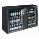 TC-BB-2GDRI INOX Double glass door bar cooler