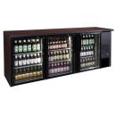 Vitrină frigorifică bar, cu trei uși TC-BB-3GD