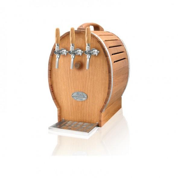 SOUDEK 50/K 3xtap -Răcitor de vin tip butoi cu trei robineți